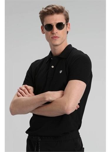Lufian Laon Spor Polo T- Shirt  Siyah